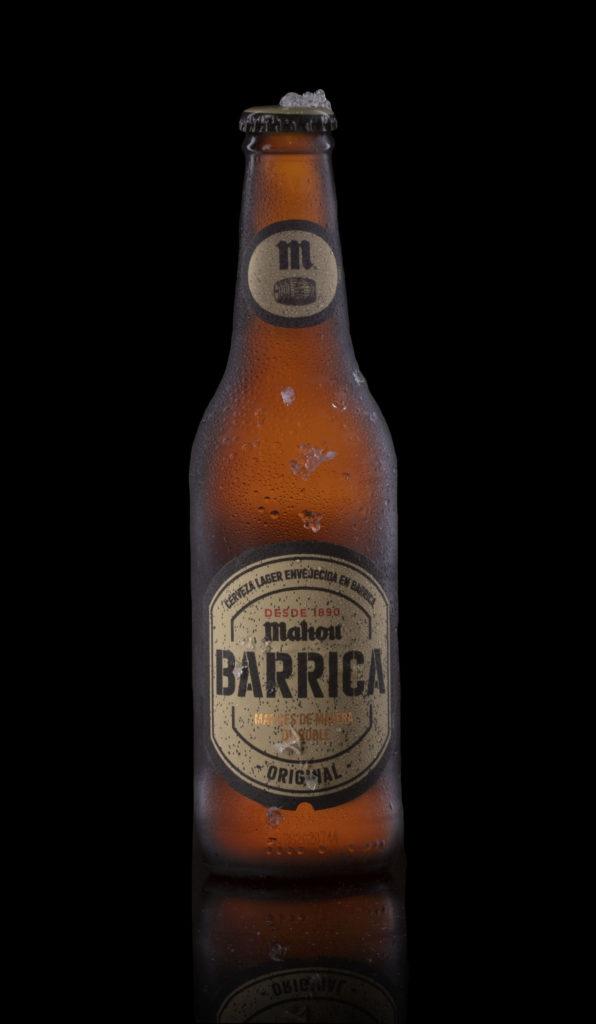 fotografía botella de cerveza